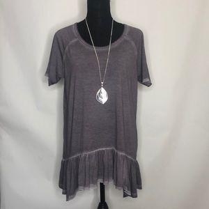Danielle woman's boho blouse top NWT
